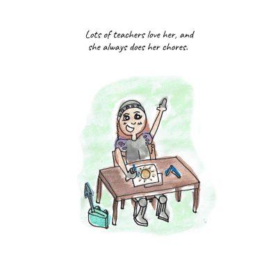 Lancelottie and the Three Scares