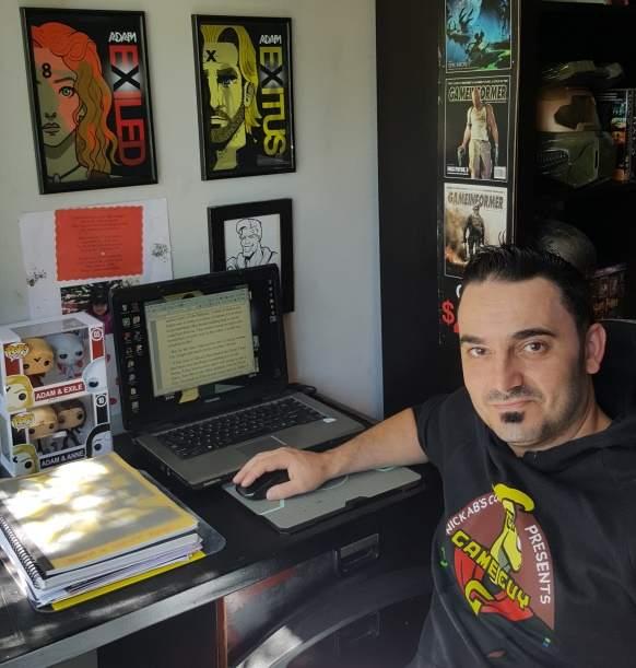 Author Nicholas Abdilla