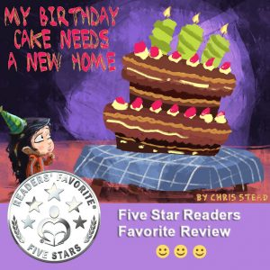 Birthday cake five star for free Readers Favorite book review guide