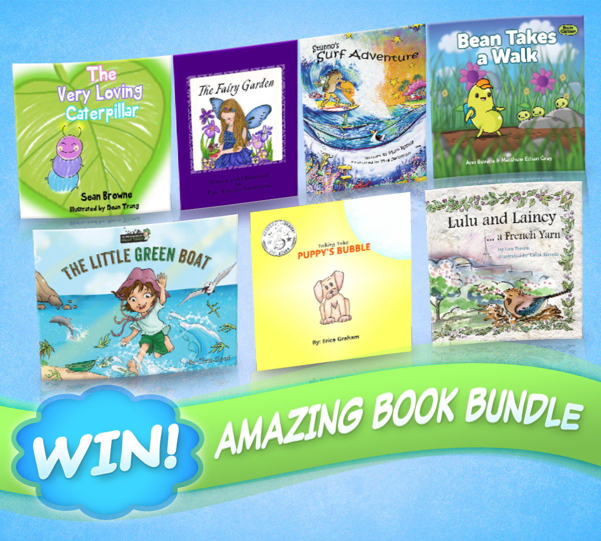 Win these amazing books by taking our children's picture book survey