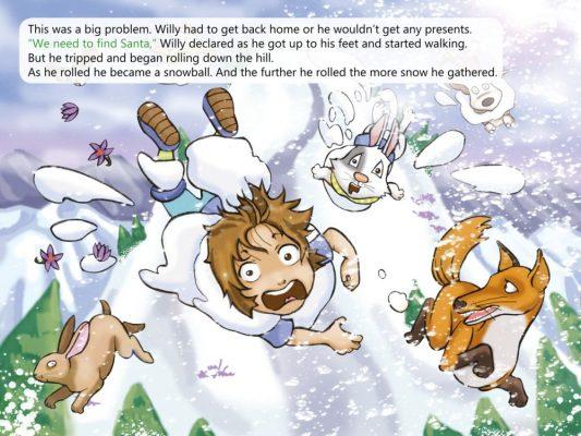 Christmas Chimney Challenge example