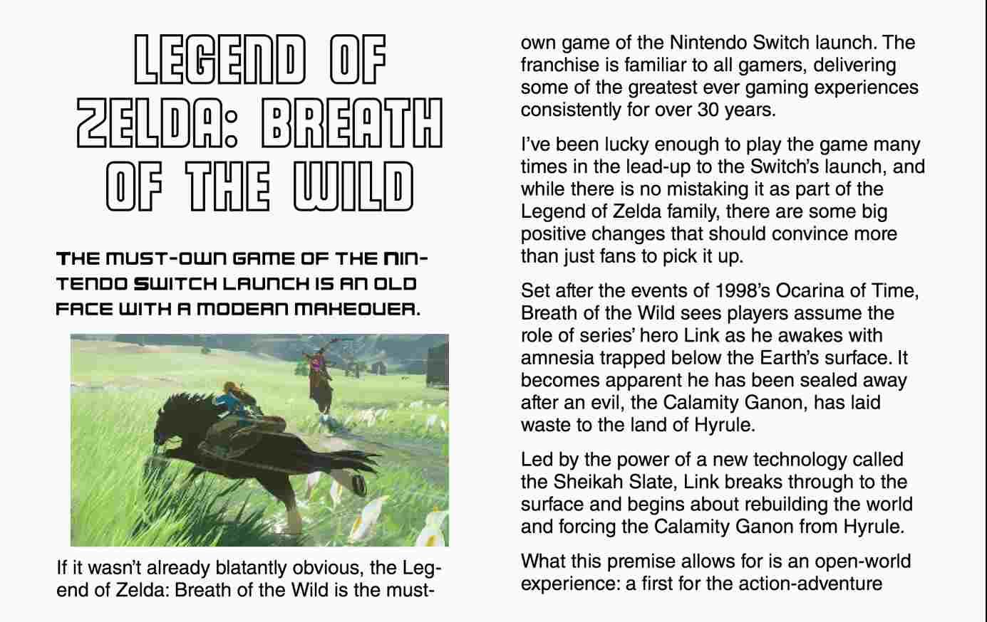 Nintendo Switch Guide Screenshot