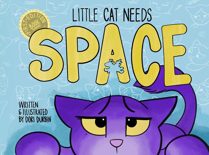 Little-Cat-Needs-Space by Dori Durban