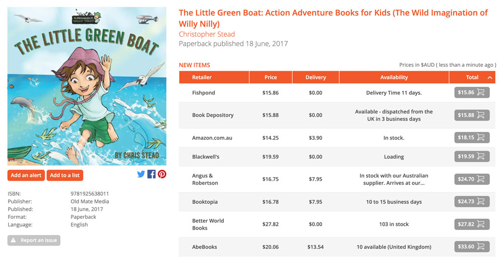 Little-Green-Boat-Booko
