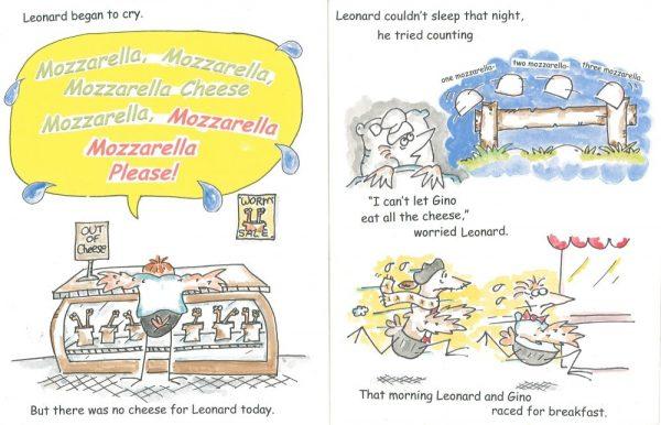 Mozarella Cheese Example