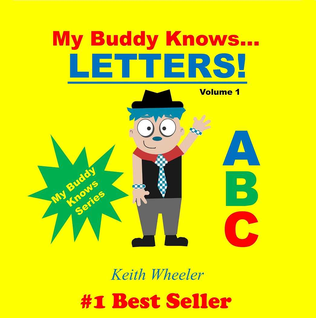 My Buddy Knows Letters Cover