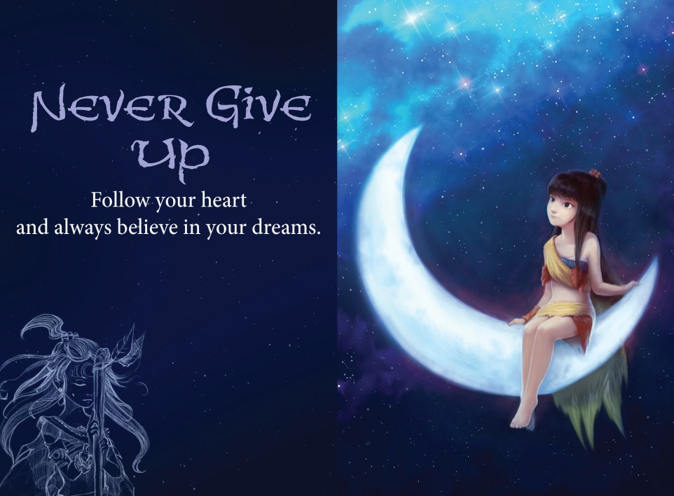 Zary Little Wisdoms - Never Give Up