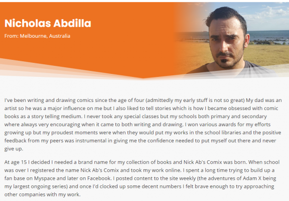 Old Mate Media authors on the new website
