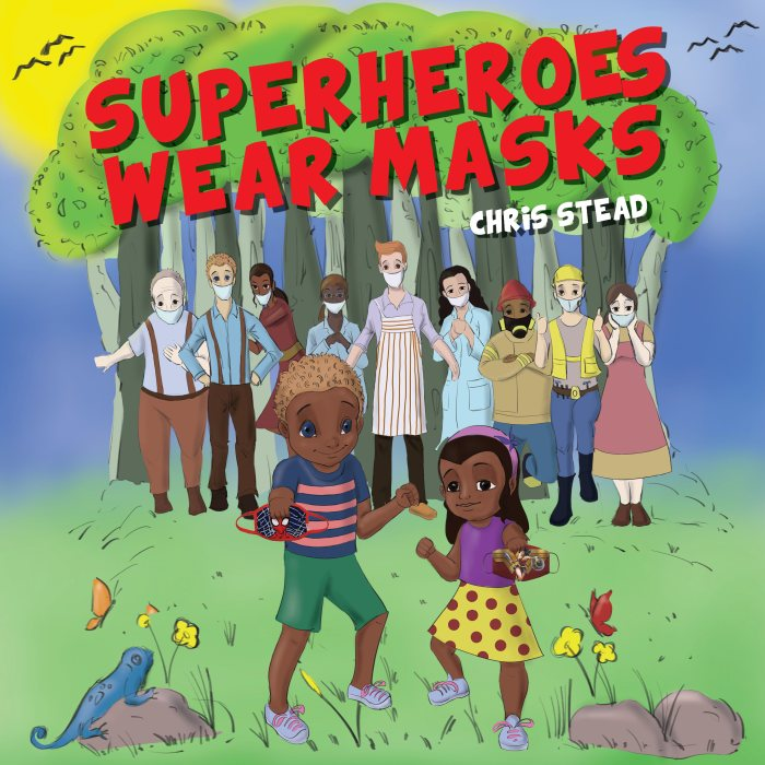 Superheroes Wear Masks Cover