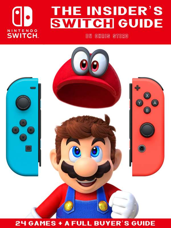 Nintendo Switch Guide Cover