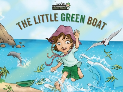 The Little Green Boat Cover