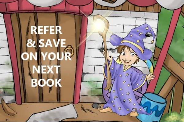 Refer & save on your next book