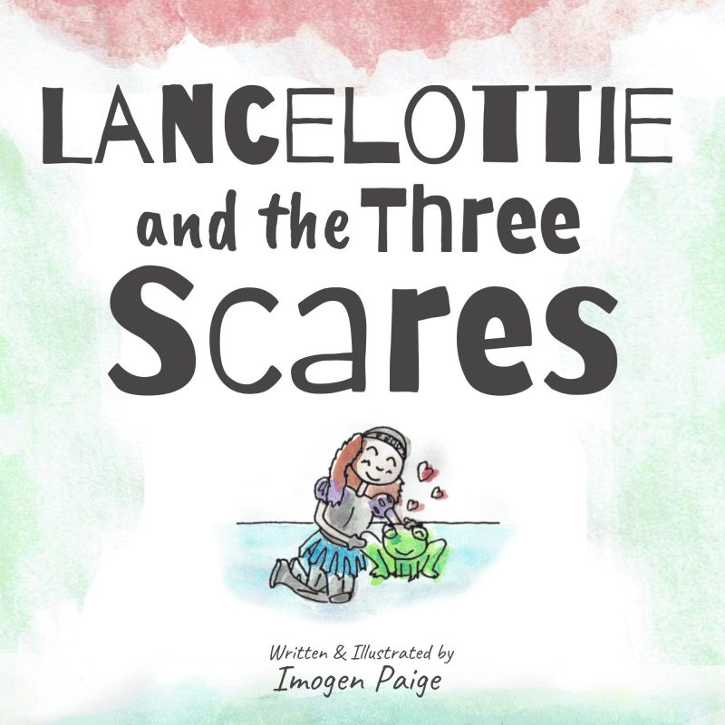 Lancelottie and the Three Scares book cover