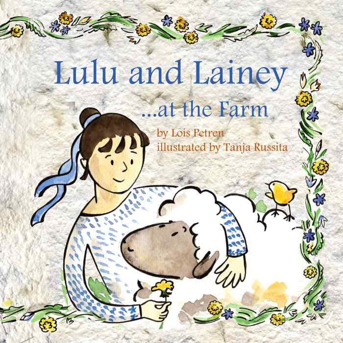 lulu and lainey at the farm cover